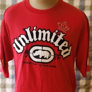 Echo Unlimited 1972 Ramthentic Red Graphic T-Shirt